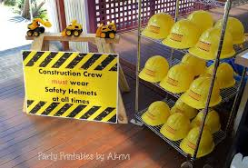 construction party ideas construction birthday party ideas photo 5 of 32 catch my party