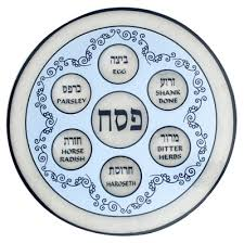messianic seder plate specialty items israel news bible prophecies proclaiming