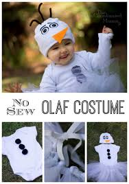 Olaf Costume Diy No Sew Olaf Costume For Under 20 The Un Coordinated Mommy
