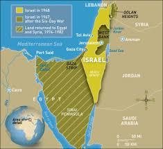 Israel Map 1948 Independence U2014 Freemanpedia