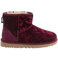 womens ugg boots size 9 womens ugg australia mini suede velvet boots burgundy wine