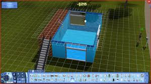 Pool Design Software The Sims 3 How To Build A Above Ground Pool With Windows Trick