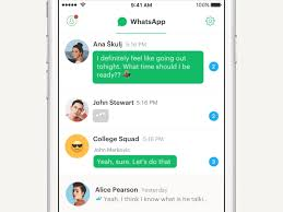 layout animation ios whatsapp chats layout and animation concept animation and layouts