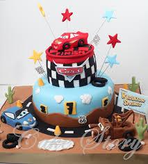 lightning mcqueen birthday cake cake story disney car lightning mcqueen birthday cake