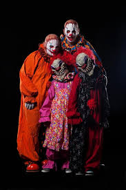 Scary Halloween Clown Costumes Group Halloween Costumes Gallery