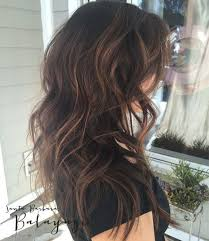 light brown highlights on dark hair best dark brown hair with caramel highlights hair pinterest