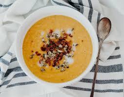 cuisiner la butternut butternut squash soup healthy