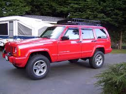 red jeep cherokee pics of red cherokees jeepforum com