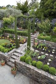 Backyard Hillside Landscaping Ideas Charming Landscaping Ideas For Downward Sloping Backyard 20 For