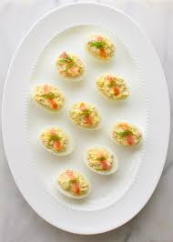 deviled egg dish smoked salmon deviled eggs taming of the spoon