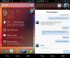 chat for android messenger for android get chat heads