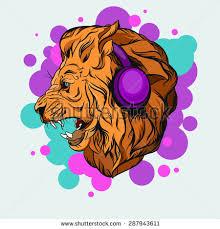 lion vector illustration animal icon lion stock vector 286971635
