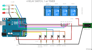 fritzing project u2013 4 relay switch 1 with timer