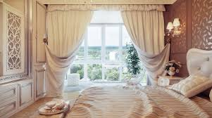 traditional neutral curtain swags olpos design bedroom curtain
