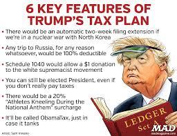 trump tax reform mad magazine idiotical originals donald trump tax reform