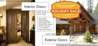 Craftsman 3 Panel Interior Door Alder Doors Com Best Quality Knotty Alder Doors 100 Made In The Usa