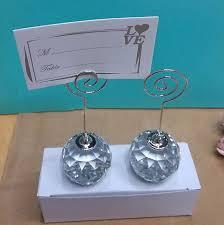 Wedding Table Number Holders Aliexpress Com Buy 80pcs Lot Wedding Favor Crystal Diamond Ball