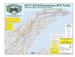map of calumet michigan keweenaw michigan atv trails
