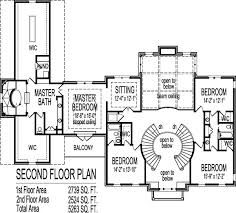 2 story house blueprints 2 story house floor plans blueprint 4 bedroom 4 car garage with