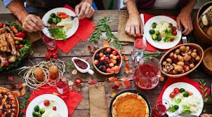 table full of food the biggest offenders on your thanksgiving table are you a well being