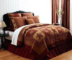 bedroom quilts and curtains ninepatch star quilt retro barn country linens 1 country bedroom