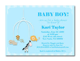 design baby shower invitations for boys