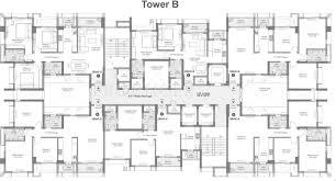 executive tower b floor plan tata avenida in new town kolkata price location map floor