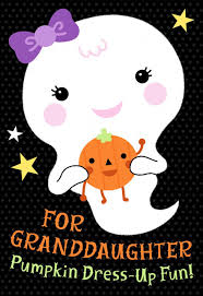 dress up your pumpkin halloween card with stickers for