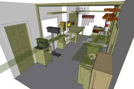 Building A Garage Workshop by A Layout Kit Startwoodworking Com