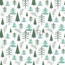 wrap paper seamless christmas pattern with trees ideal for wrapping paper
