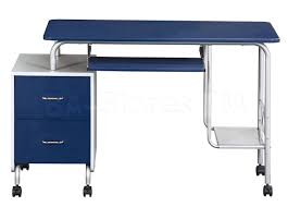 Blue Computer Desk Blue Computer Desk Desk Design Ideas