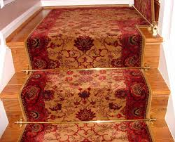 Stair Landing Rug Runner On Landing How To Angle For A 90 Degree Turn Stair