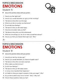emotions all things topics