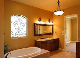 modern rustic bathroom lighting what should be done while