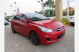 used hyundai accent 2012 used hyundai accent for sale in miami fl edmunds