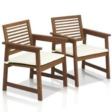 Outdoor Wooden Patio Furniture Wood Patio Furniture You U0027ll Love Wayfair