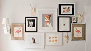 How To Hang A Map Without A Frame by 4 Tricks For Hanging A Gallery Wall Southern Living