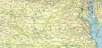 virginia map virginia maps perry castañeda map collection ut library