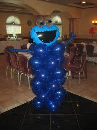 cookie monster baby shower cookie monster balloon decorations special events pinterest