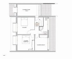 plan maison rdc 3 chambres plan maison chambre plan maison etage chambres px l plan maison