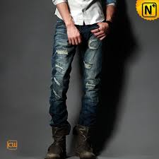 Ripped Denim Jeans For Men Men Fashion Ripped Denim Jeans Cw14023 Men U0027s Fashion Pinterest