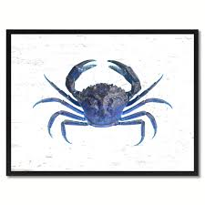 crab decorations for home blue crab home decor wall art nautical beach fisherman gift ideas