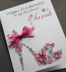 handmade 21st birthday card ideas alanarasbach com