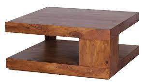 Wohnzimmertisch Luxus Wohnling Couchtisch Massiv Holz Sheesham 90 Cm Breit Wohnzimmer