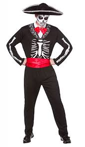 day of the dead costumes mens mariachi day of the dead costume