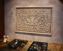 toulouse with scrolls medallions and plain frame liners 26 x 38 find this pin and more on relief kitchen tile backsplash insert mural