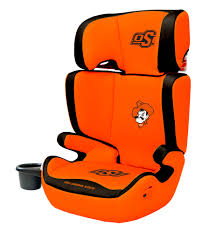 cartoon car back oklahoma state university cowboys 2 in1 high back booster car seat