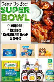 black friday restaurant deals gear up for the super bowl with the best coupons recipes