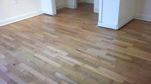 refinished waxed oak hardwood floors after hardwood floors