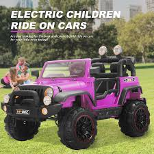 jeep power wheels for girls 12v kids ride on cars electric battery power wheels remote control